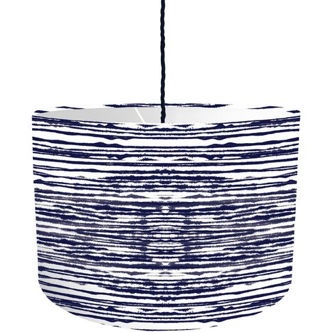 Tie Dye Striped Lampshade