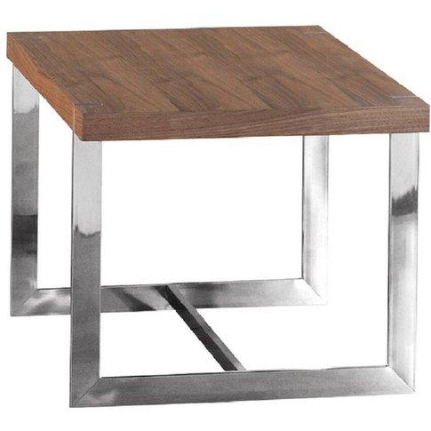 Morcott Walnut End Side Table