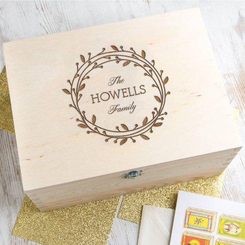 Personalised Christmas Storage Box