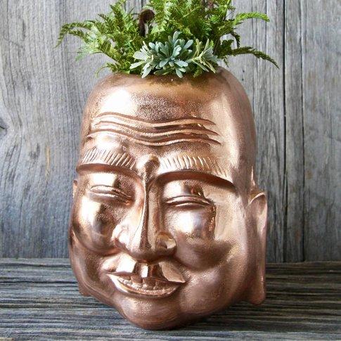 Smiling Buddha Vase
