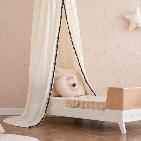 Dream Pink Moon Pompom Cushion