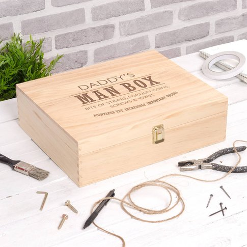 Personalised Bits And Bobs Storage Box