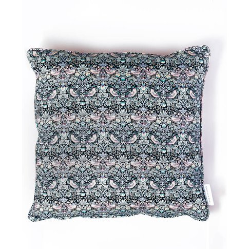 Cushion Made With Liberty Fabric 'The Strawberry Thief'