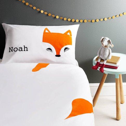 Fox Pillowcase