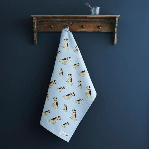 Border Terrier Tea Towel