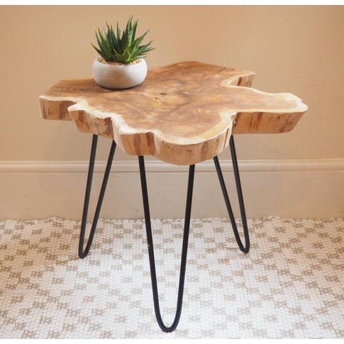 Tree Trunk Coffee Table Two Sizes