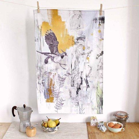 Northern Lapwing Tea Towel