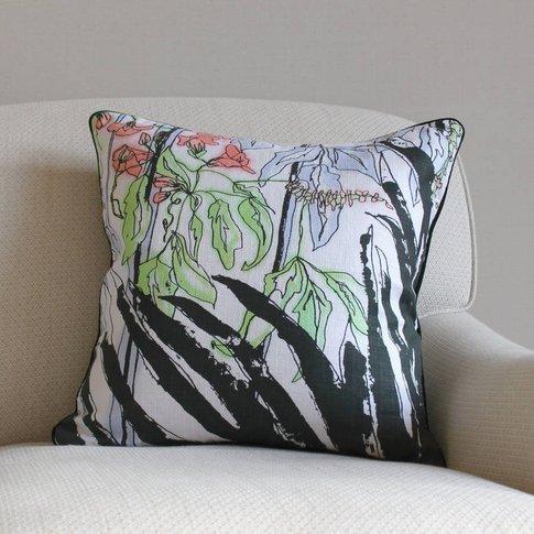 Tropical Print Arecacaea Cushion