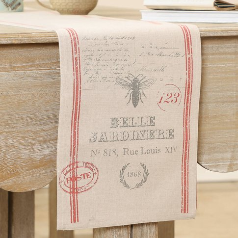 Luxury French Style Cotton Table Runner
