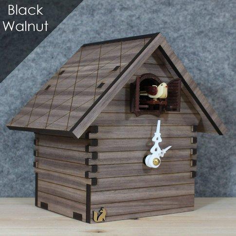Heidi Cuckoo Clock : Black Walnut