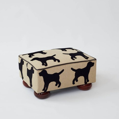 Eaton Labrador Small Footstool