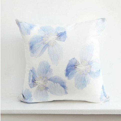 Himalayan Poppy Cushion Cover
