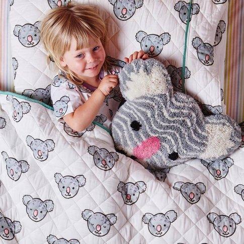 Koala Quilted Pillowcase