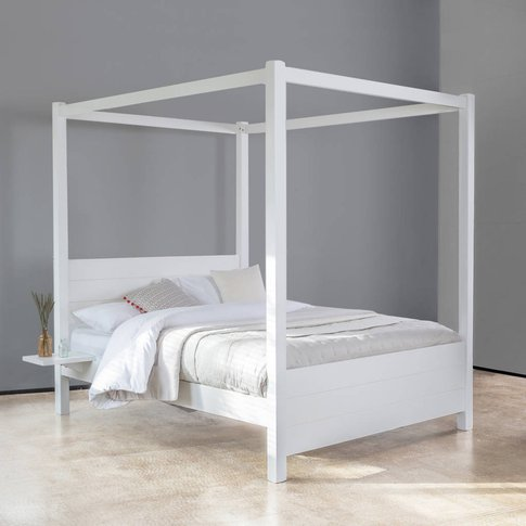 Wooden Four Poster Bed Frame Summer