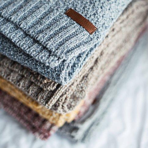Personalised Knitted Pet Blanket