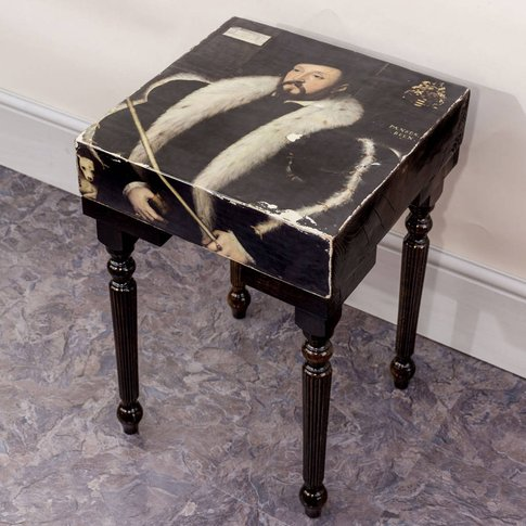 Handmade Vintage William Wentworth Side Table