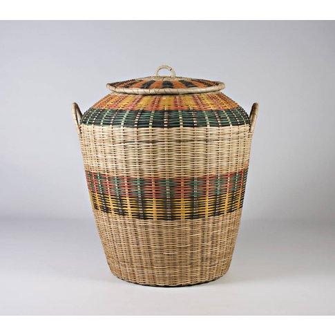 Cane Laundry Basket Can26