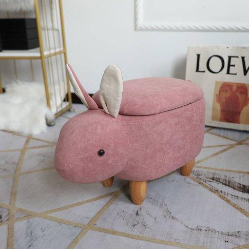 Rabbit Children's Storage Footstool