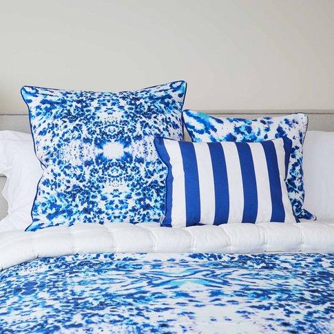 Mesmerise Watercolour Cushion