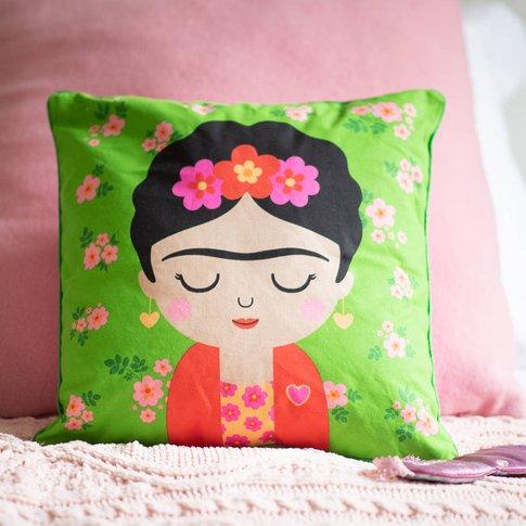 Personalised Cute Frida Design Cushion