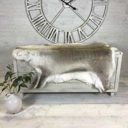 Luxury 'Rare Breed' Reindeer Large Hide Rug 122 X 127