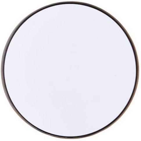Round Bronze Mirror