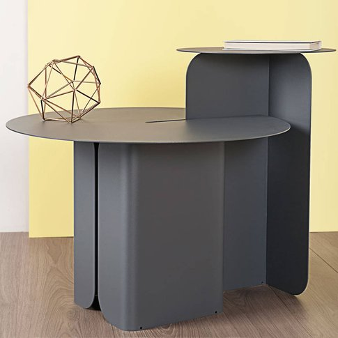 Handmade Steel Side Table