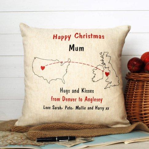 Christmas Abroad Cushion