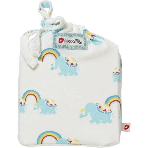 Rainbow Elephant Moses Basket Sheet