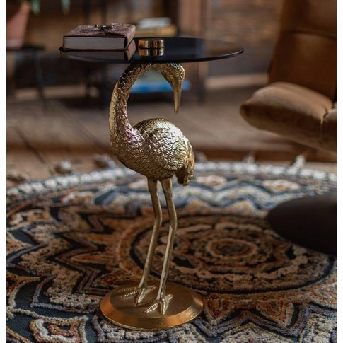 Gold Crane Side Table Pre Order March