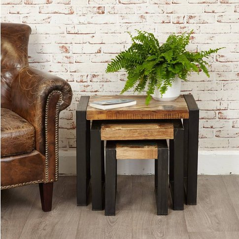 Shoreditch Nest Of Three Side Tables