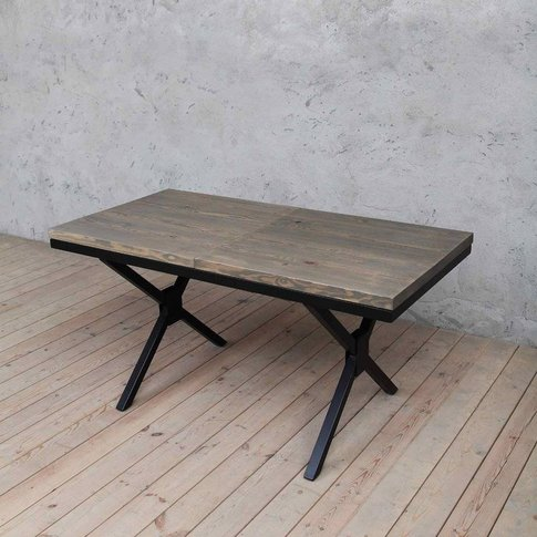 Kew B Extendable Solid Wood Dining Table