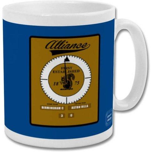 'St Andrew's Clock' Minimalist Birmingham City Mug