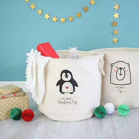 Personalised Kids Toy Box Tub Storage
