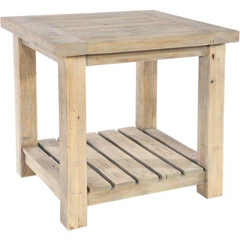 Drift Shelved Side Table