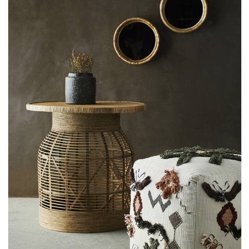Crafted Rattan Side Table Pre Order Early Dec