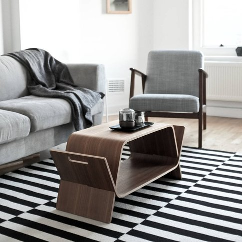 Embrace Walnut Coffee Table
