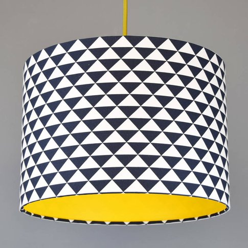 Pick And Mix Triangles Drum Lampshade Choice Of Colo...