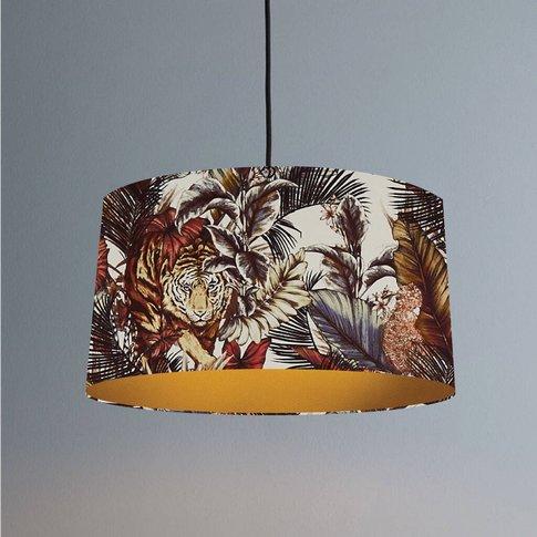 Bengal Tiger Lampshade In Safari