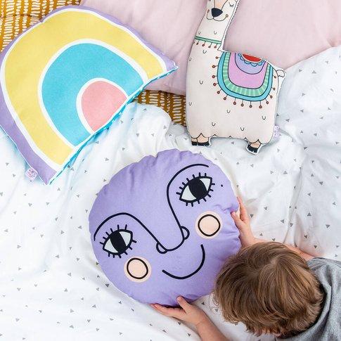 Large Moon Nursery Cushion