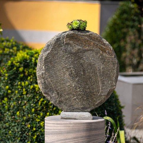 Basa Natural Slate Vase 30cm