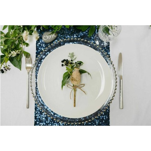 Sequin Table Runner Choose From 15 Colours, Champagn...