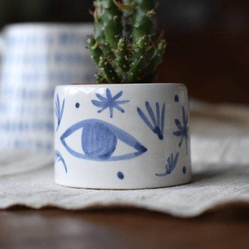'Tide Mills' Handmade Ceramic Planter