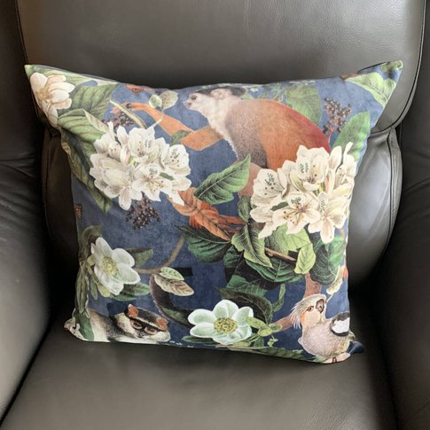Velvet Monkey Cushion