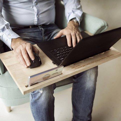 Personalised Laptop Lap Desk Portable Workstation