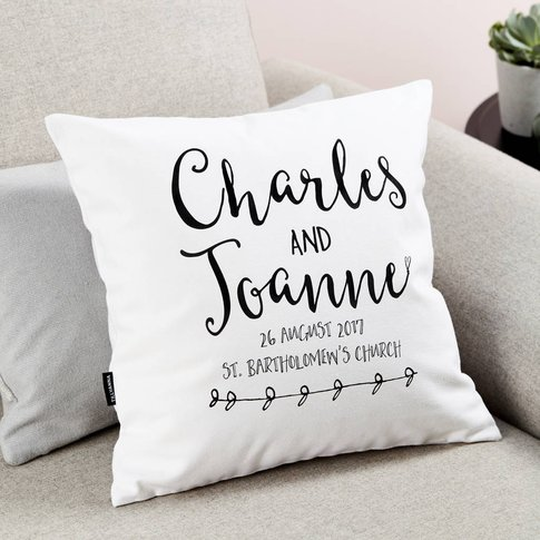 Anniversary Cushion