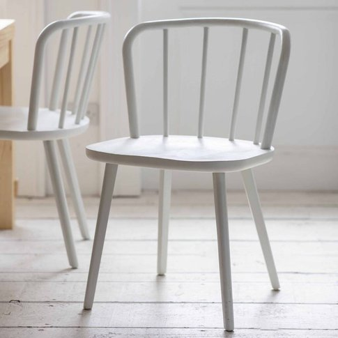 Uley Dining Chairs In Black, Grey Or Oak