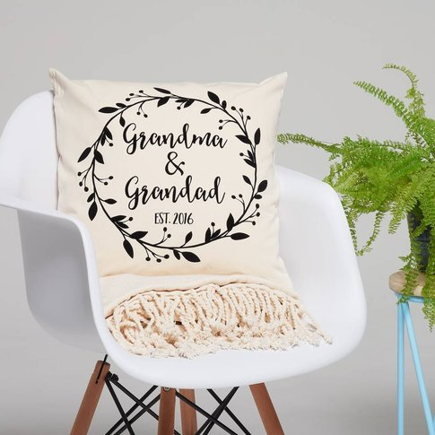 Personalised Grandparents Cushion