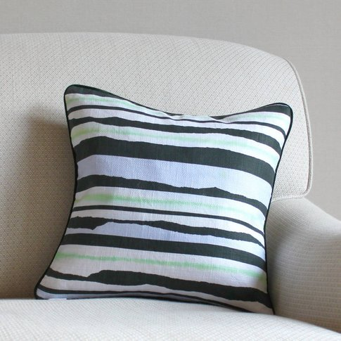 Stripe Printed Burton Cushion