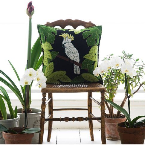 Cockatoo Cushion
